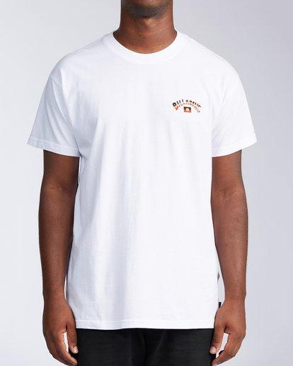 1 Flag Arch Short Sleeve T-Shirt White ABYZT00646 Billabong