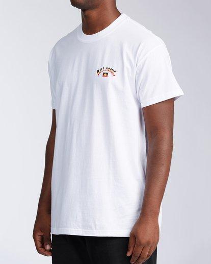 2 Flag Arch Short Sleeve T-Shirt White ABYZT00646 Billabong