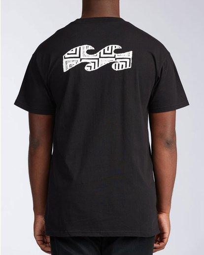 2 Atmosphere Short Sleeve T-Shirt Black ABYZT00648 Billabong
