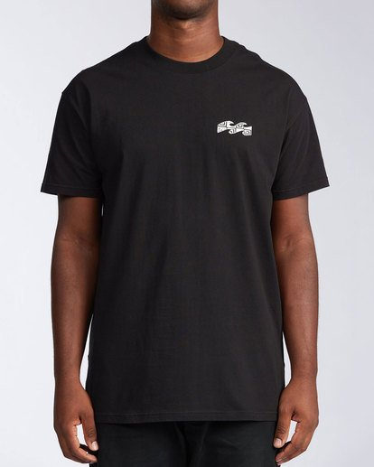 0 Atmosphere Short Sleeve T-Shirt Black ABYZT00648 Billabong