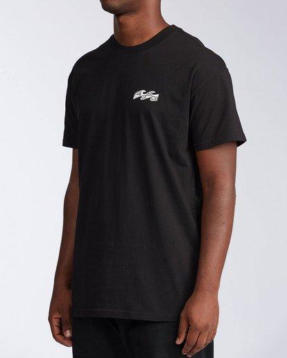 1 Atmosphere Short Sleeve T-Shirt Black ABYZT00648 Billabong