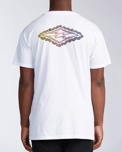 2 Diamond Skies Short Sleeve T-Shirt White ABYZT00649 Billabong
