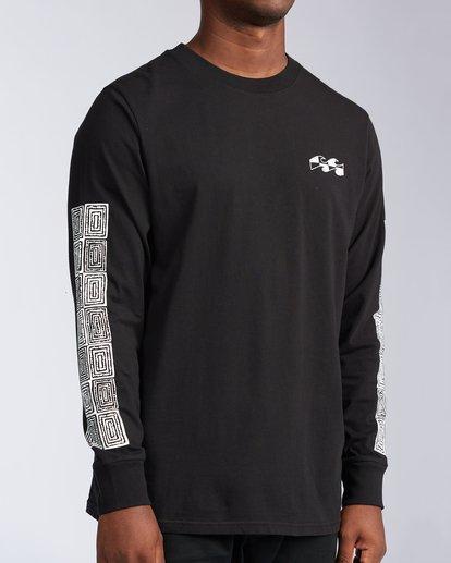 3 Atmosphere Long Sleeve T-Shirt Black ABYZT00651 Billabong