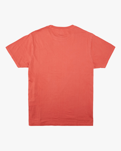 4 Essential Short Sleeve Wave Washed T-Shirt Orange ABYZT00652 Billabong