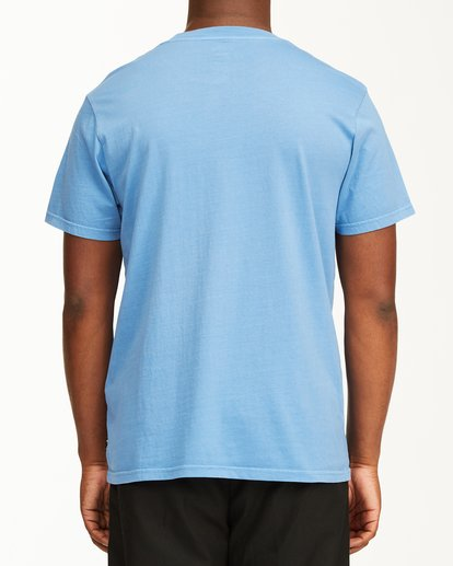 2 Essential Short Sleeve Wave Washed T-Shirt Blue ABYZT00652 Billabong