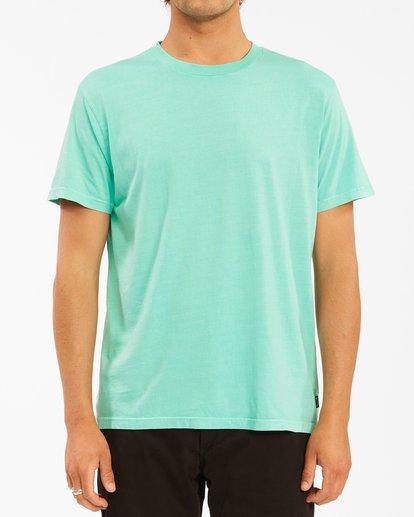 0 Essential Short Sleeve Wave Washed T-Shirt Black ABYZT00652 Billabong