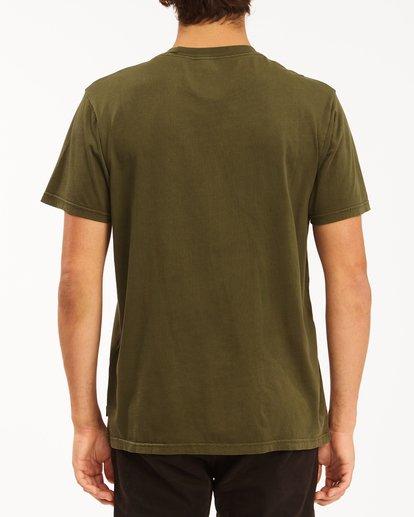 2 Essential Short Sleeve Wave Washed T-Shirt Green ABYZT00652 Billabong