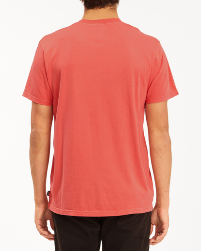 2 Essential Short Sleeve Wave Washed T-Shirt Orange ABYZT00652 Billabong