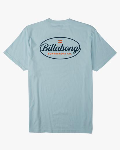 6 Vista Short Sleeve T-Shirt Blue ABYZT00653 Billabong