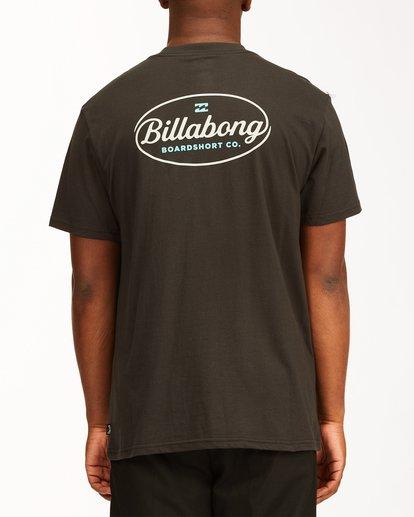 2 Vista Short Sleeve T-Shirt Black ABYZT00653 Billabong