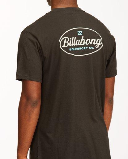 3 Vista Short Sleeve T-Shirt Black ABYZT00653 Billabong