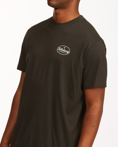 4 Vista Short Sleeve T-Shirt Black ABYZT00653 Billabong