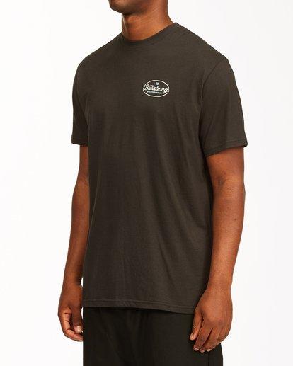 1 Vista Short Sleeve T-Shirt Black ABYZT00653 Billabong