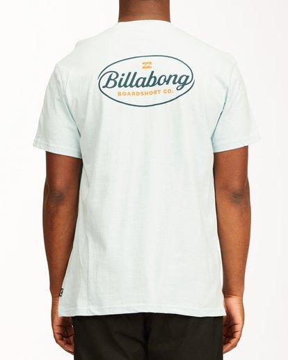 2 Vista Short Sleeve T-Shirt Blue ABYZT00653 Billabong