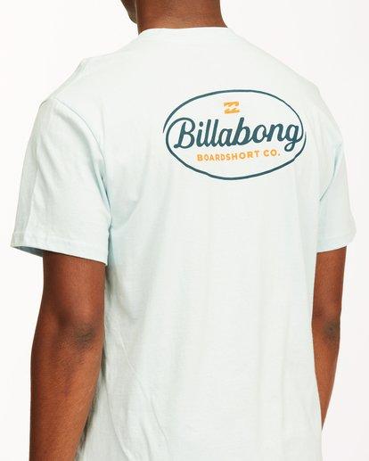 3 Vista Short Sleeve T-Shirt Blue ABYZT00653 Billabong