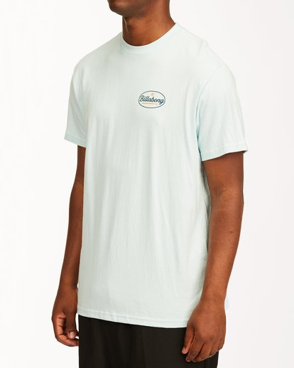 4 Vista Short Sleeve T-Shirt Blue ABYZT00653 Billabong