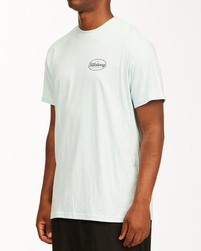 1 Vista Short Sleeve T-Shirt Blue ABYZT00653 Billabong