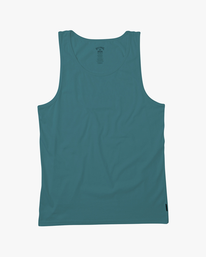 3 Essential Tank Wave Washed T-Shirt Blue ABYZT00654 Billabong