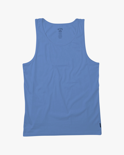 3 Essential Tank Wave Washed Tank Top Blue ABYZT00654 Billabong