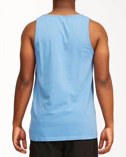 2 Essential Tank Wave Washed T-Shirt Blue ABYZT00654 Billabong