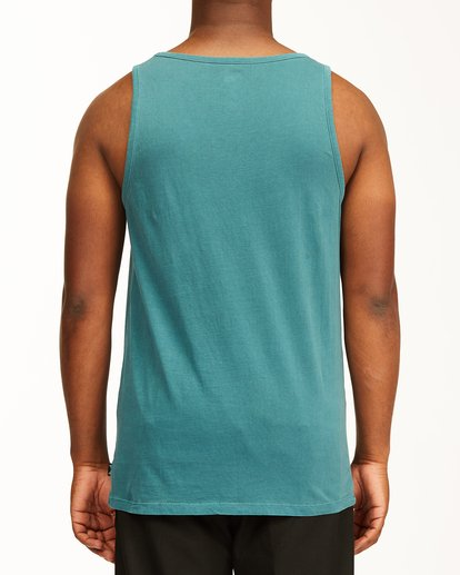 2 Essential Tank Wave Washed Tank Top Blue ABYZT00654 Billabong