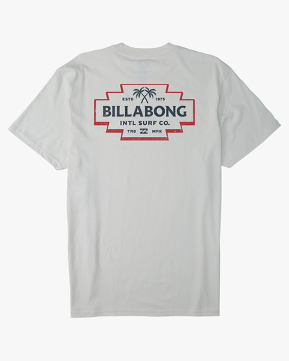 6 Hacienda Short Sleeve T-Shirt White ABYZT00655 Billabong