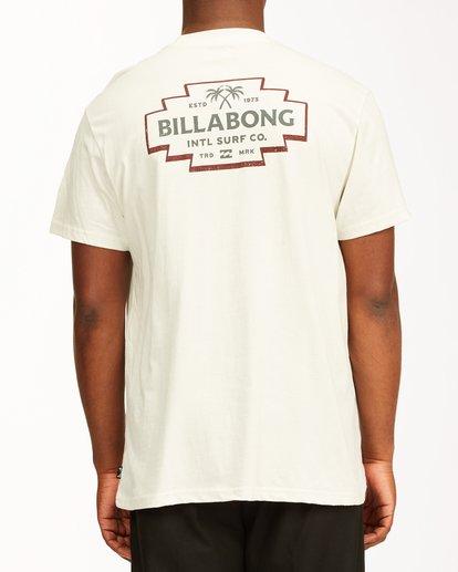 2 Hacienda Short Sleeve T-Shirt White ABYZT00655 Billabong