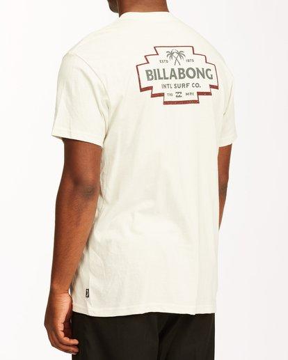 3 Hacienda Short Sleeve T-Shirt White ABYZT00655 Billabong