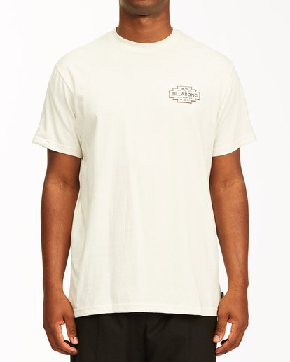 0 Hacienda Short Sleeve T-Shirt White ABYZT00655 Billabong