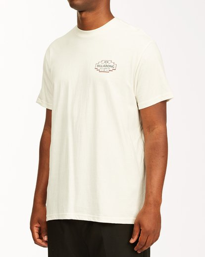 1 Hacienda Short Sleeve T-Shirt White ABYZT00655 Billabong