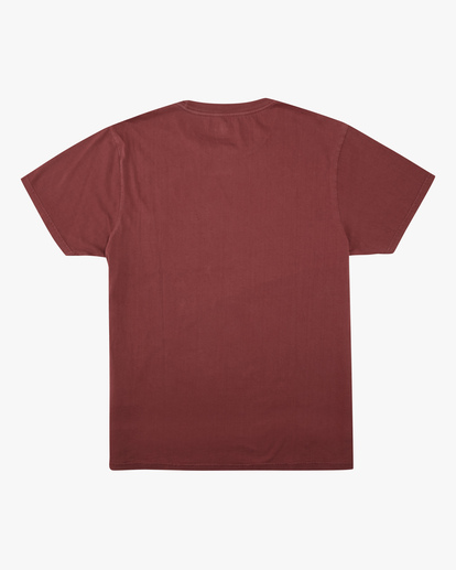 5 Essential Pocket Wave Washed T-Shirt Red ABYZT00656 Billabong