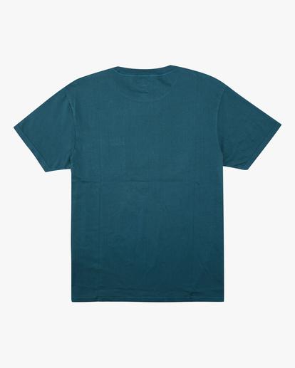 5 Essential Pocket Wave Washed T-Shirt Blue ABYZT00656 Billabong