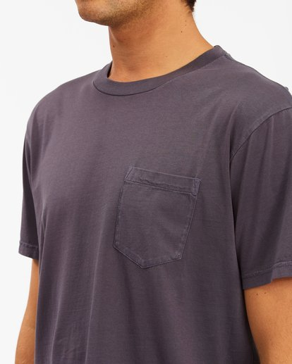 3 Essential Pocket Wave Washed T-Shirt White ABYZT00656 Billabong