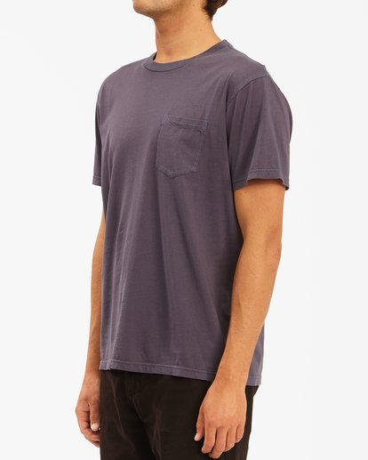 1 Essential Pocket Wave Washed T-Shirt White ABYZT00656 Billabong