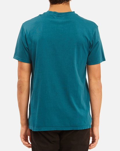 2 Essential Pocket Wave Washed T-Shirt Blue ABYZT00656 Billabong