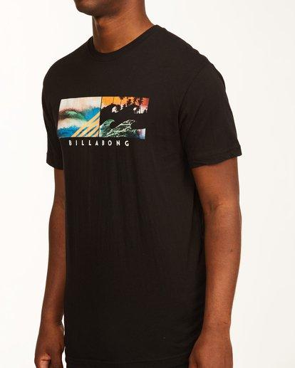 3 Inverse Photo Short Sleeve T-Shirt Black ABYZT00657 Billabong