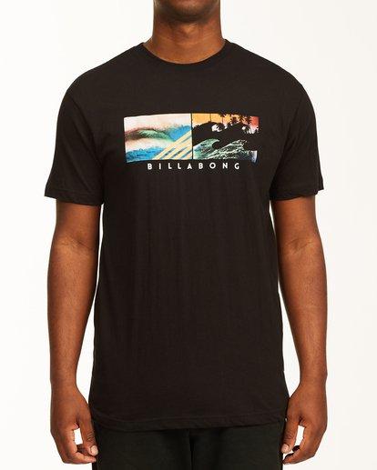 0 Inverse Photo Short Sleeve T-Shirt Black ABYZT00657 Billabong