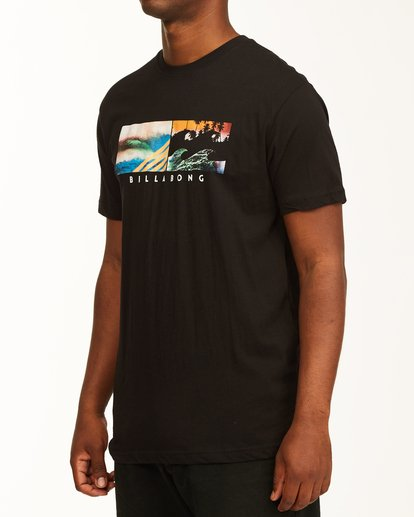 1 Inverse Photo Short Sleeve T-Shirt Black ABYZT00657 Billabong