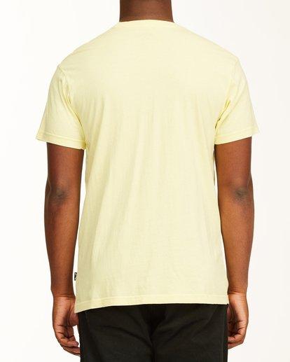 2 Inverse Photo Short Sleeve T-Shirt Yellow ABYZT00657 Billabong