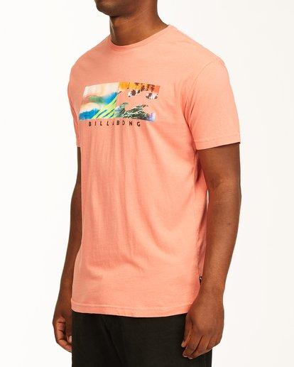 1 Inverse Photo Short Sleeve T-Shirt Orange ABYZT00657 Billabong