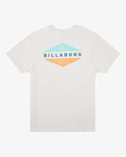 4 Level Short Sleeve T-Shirt White ABYZT00673 Billabong