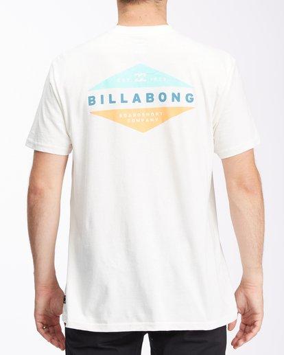2 Level Short Sleeve T-Shirt White ABYZT00673 Billabong
