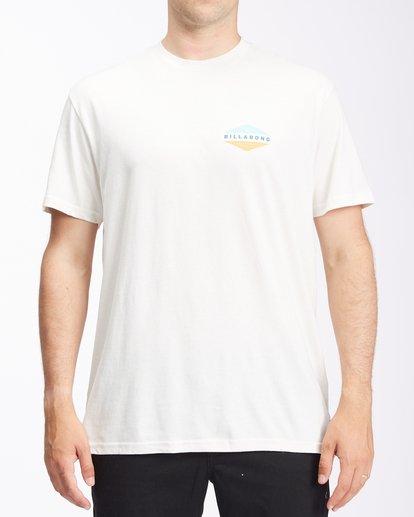 0 Level Short Sleeve T-Shirt White ABYZT00673 Billabong