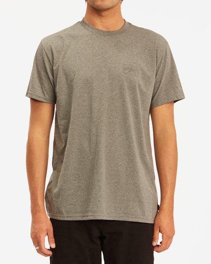 0 A/Div Performance UV Short Sleeve T-Shirt Green ABYZT00676 Billabong