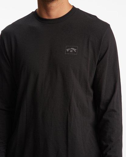 3 A/Div Performance UV Long Sleeve T-Shirt Black ABYZT00677 Billabong