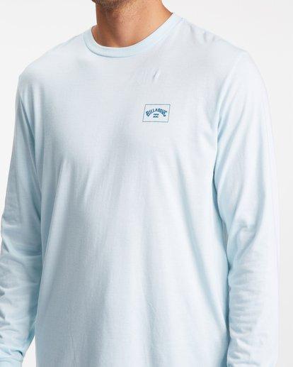 3 A/Div Performance UV Long Sleeve T-Shirt Blue ABYZT00677 Billabong