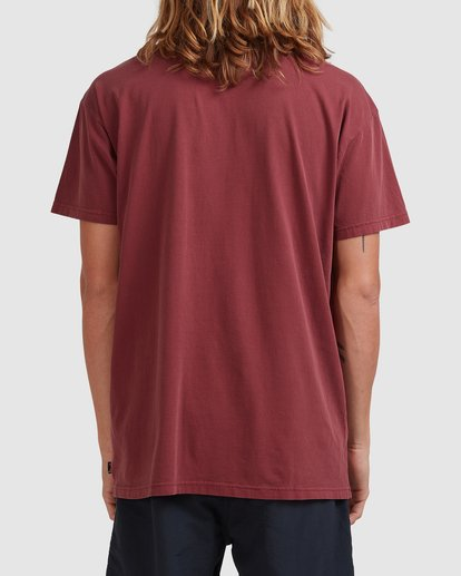 2 RAIN WAVE TEE Red ABYZT00697 Billabong