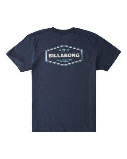 1 Auto T-Shirt Blue ABYZT00703 Billabong