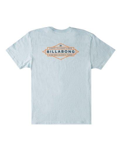 4 Coast T-Shirt Blue ABYZT00704 Billabong