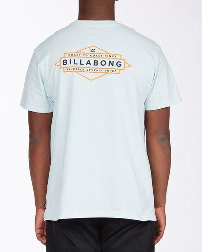 2 Coast T-Shirt Blue ABYZT00704 Billabong